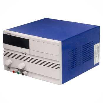 منبع تغذیه متغیر تک دیجیتال با جریان 10-0 آمپر و ولتاژ 30-0 ولت گلداستار مدل LG17300SL10A ( پاور ساپلای Power supply مبدل ولتاژ و جریان AC به DC ) |
