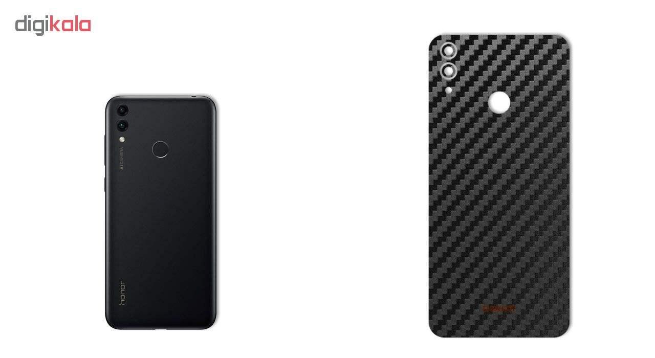 برچسب پوششی ماهوت طرح Carbon-Fiber مناسب برای گوشی موبایل هوآوی Honor 8C thumb 1