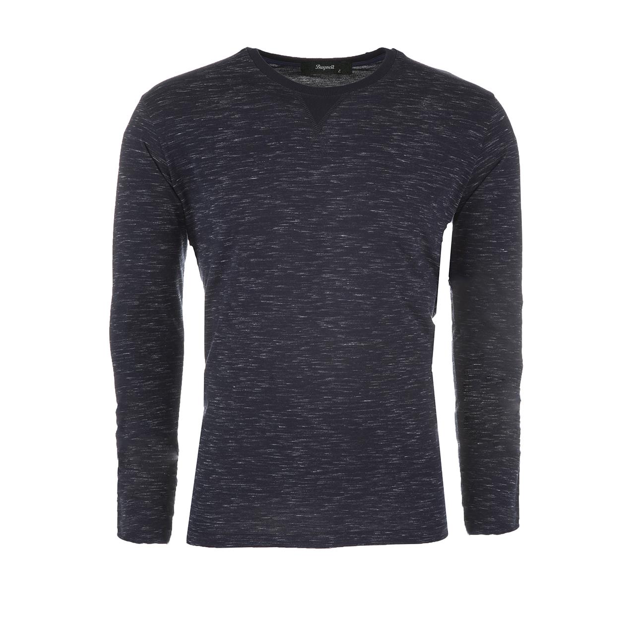 تی شرت نخی آستین بلند مردانه بای نت کد 282-1