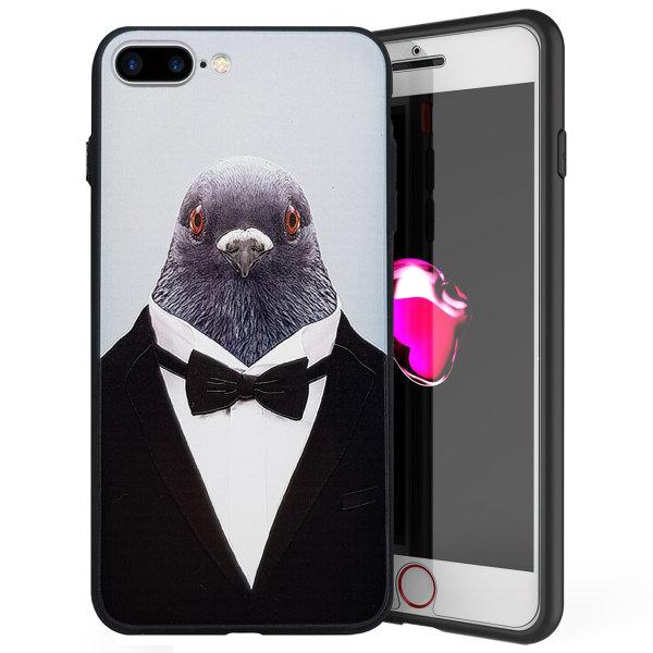 کاور ایکس او طرح Pigeo مناسب برای گوشی موبایل اپل iPhone 7 Plus/8 Plus