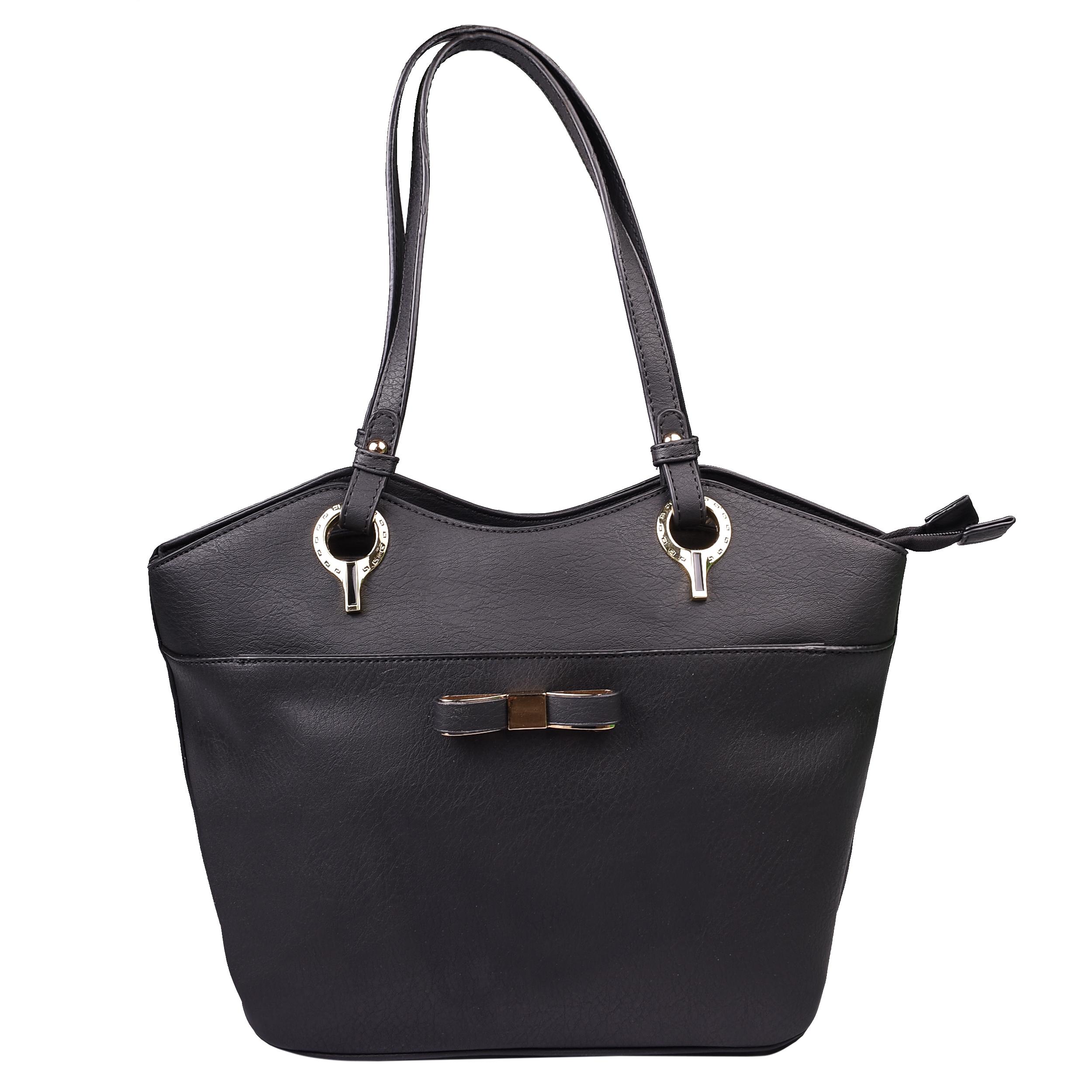 کیف زنانه مدل 705 رنگ مشکی سایز L
