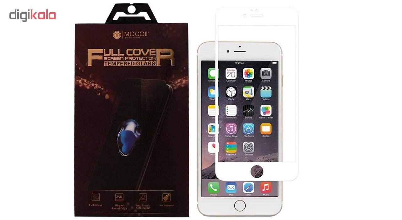 محافظ صفحه نمایش موکول مدل Full Cover مناسب برای گوشی موبایل اپل آیفون 7 پلاس / 8 پلاس main 1 2