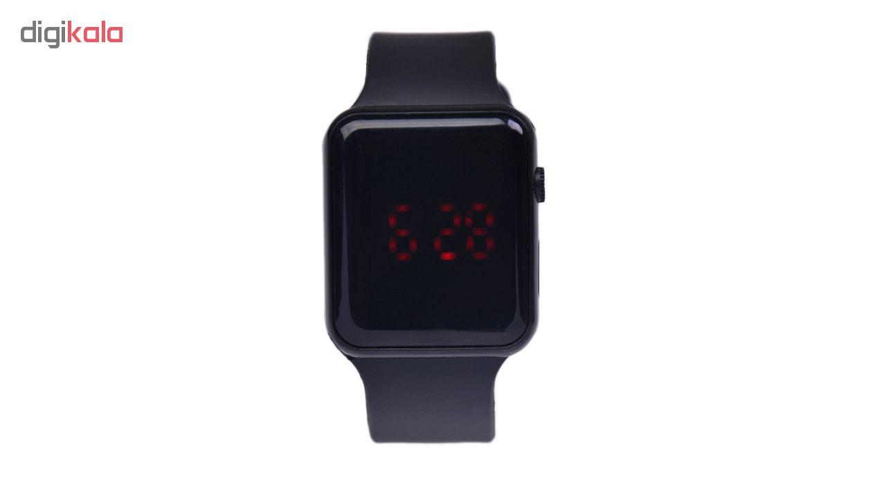 خرید ساعت مچی دیجیتال مردانه مدل App-Wch | ساعت مچی