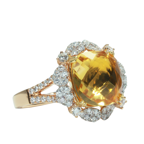 انگشتر طلا 18 عیار مدل KG1000