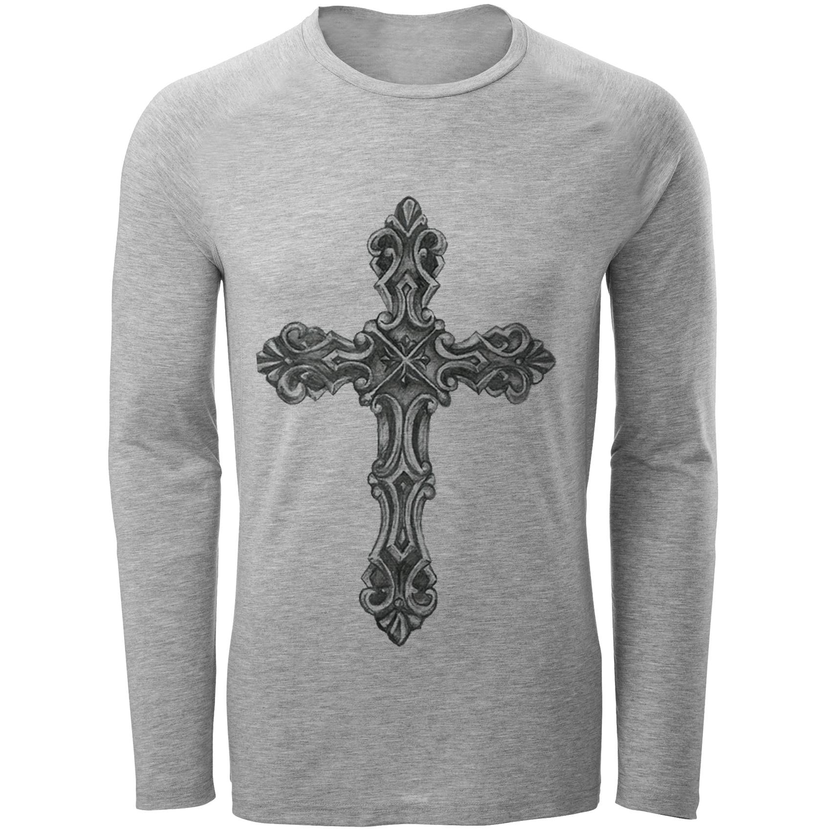 تی شرت مردانه طرح صلیب کد C45