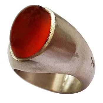 انگشتر نقره مردانه مدل al326jw