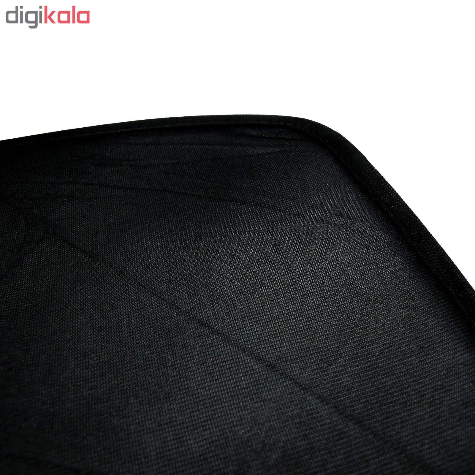 آفتاب گیر شیشه خودرو مناسب برای پراید بسته 4 عددی