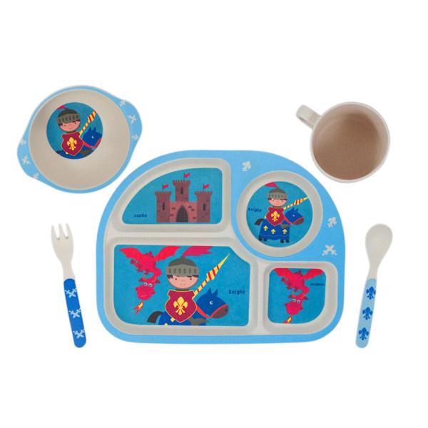 سرویس غذاخوری 5 تکه کودک میلانو هوم کد M5112