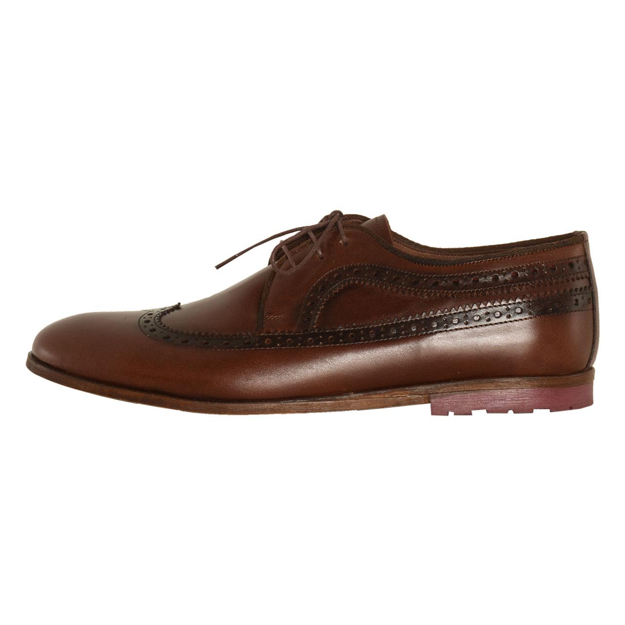 کفش مردانه کهن چرم مدل SHO113-7