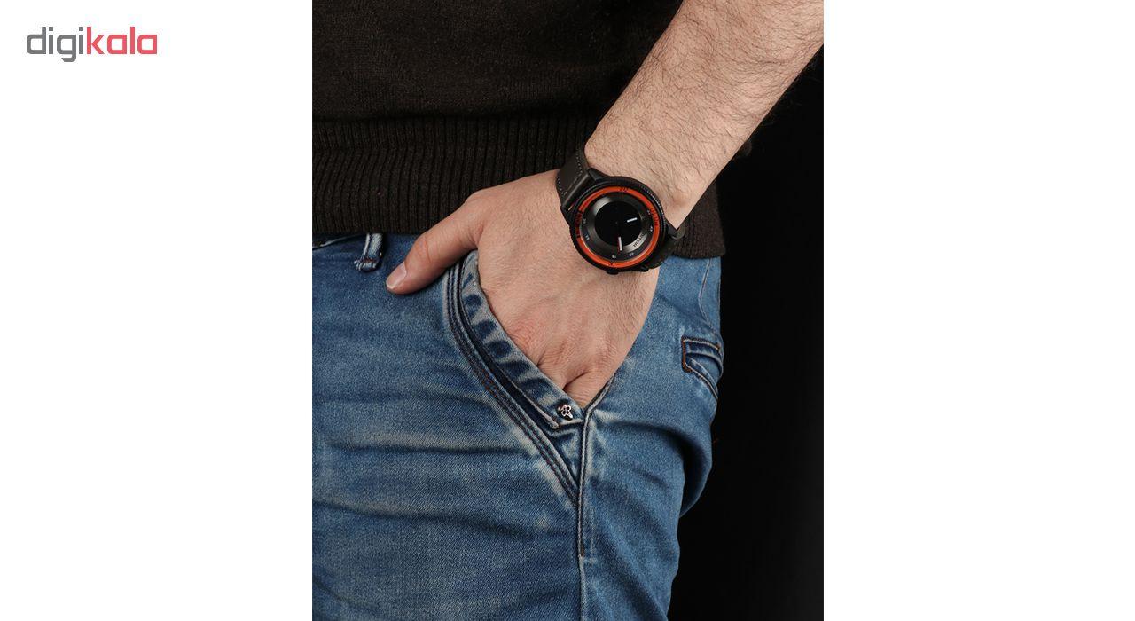 خرید ساعت مچی عقربه ای مردانه می تینا مدل M-866 رنگ نارنجی
