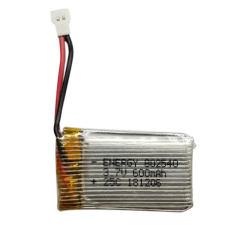 باتری لیتیومی مدل HP-802540 ظرفیت 600 میلی آمپر ساعت