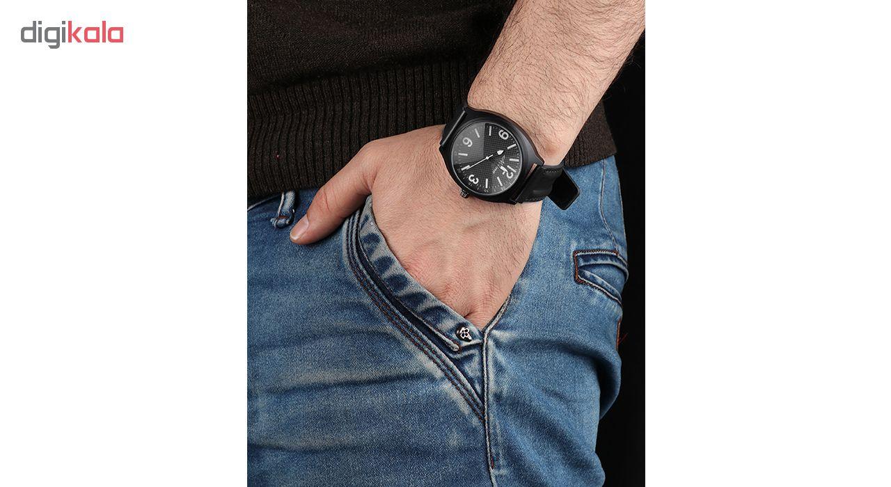 خرید ساعت مچی عقربه ای مردانه می تینا مدل M-292 رنگ مشکی