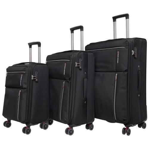 مجموعه سه عددی چمدان ردی ونگر مدل SWISS 118