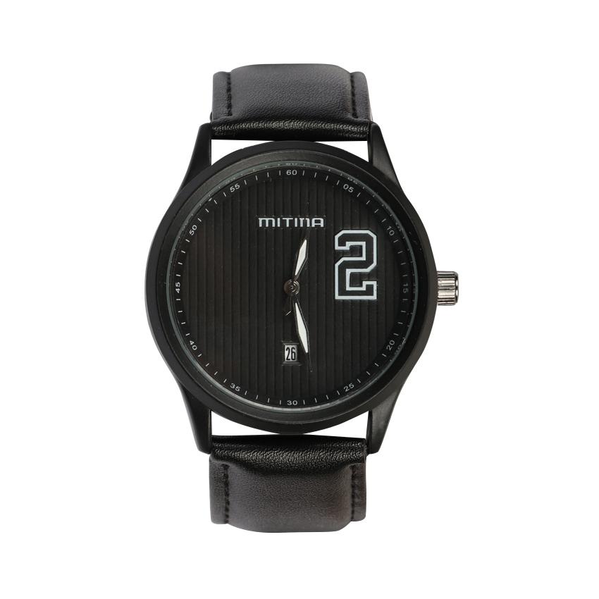 ساعت مچی عقربه ای مردانه می تینا مدل M-832 رنگ مشکی