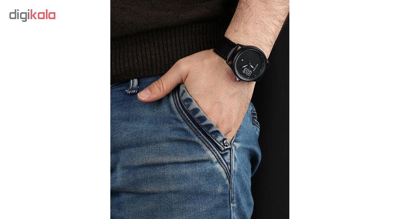 خرید ساعت مچی عقربه ای مردانه می تینا مدل M-832 رنگ مشکی