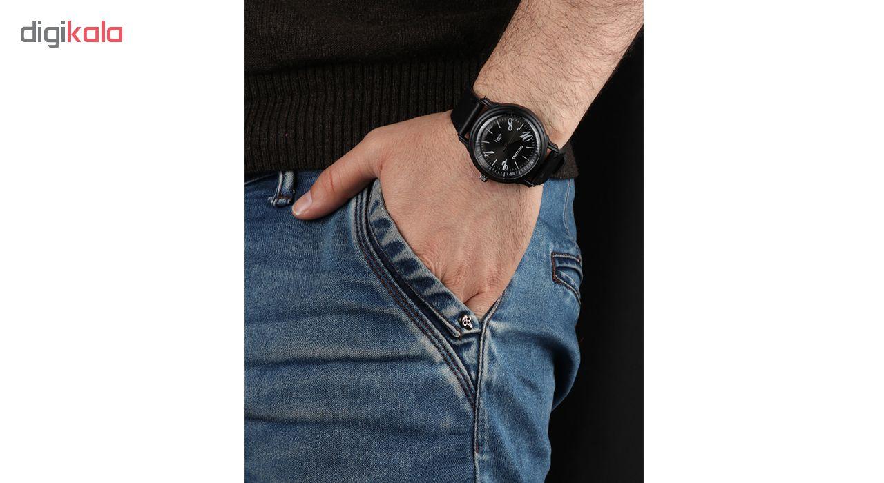 خرید ساعت مچی عقربه ای مردانه می تینا مدل M-294 رنگ مشکی