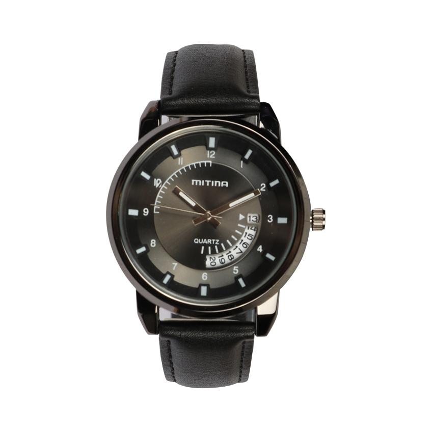 ساعت مچی عقربه ای مردانه می تینا مدل M-826 رنگ مشکی