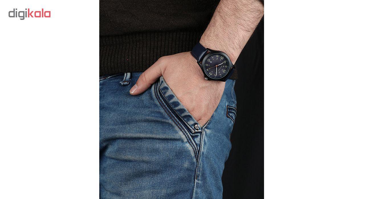 خرید ساعت مچی عقربه ای مردانه می تینا مدل M-871  رنگ سرمه ای