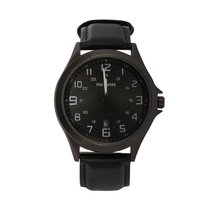 ساعت مچی عقربه ای مردانه می تینا مدل M-858 رنگ مشکی