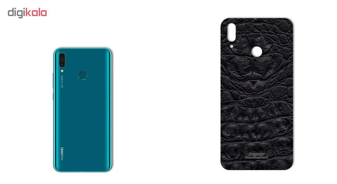 برچسب پوششی ماهوت طرح Crocodile-Leather مناسب برای گوشی موبایل هوآوی Y9 2019 main 1 1