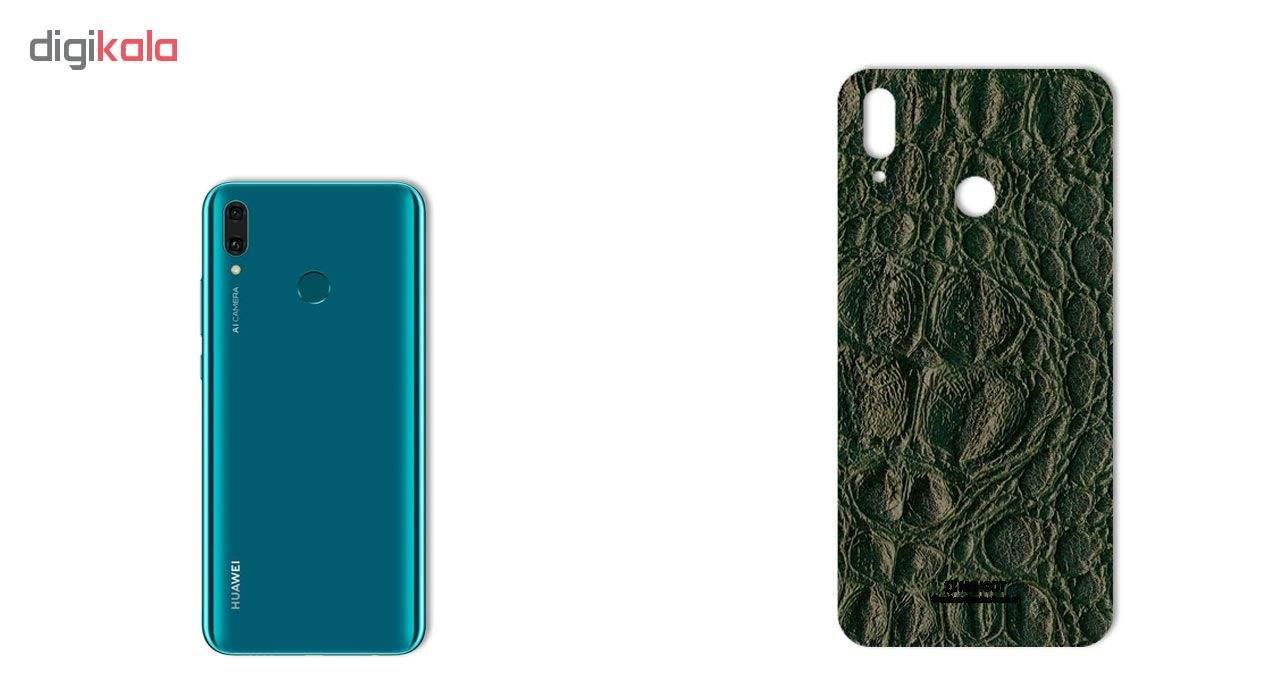 برچسب پوششی ماهوت طرح Crocodile-Leather مناسب برای گوشی موبایل هوآوی Y9 2019 main 1 3