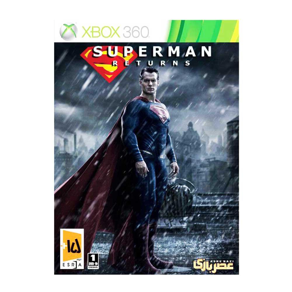 بازی Superman Returns مخصوص xbox 360  thumb