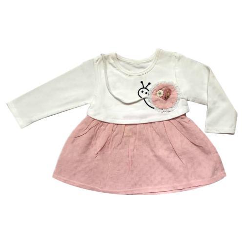 پیراهن نوزادی دخترانه مدل Angel 1