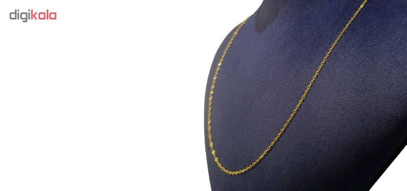 زنجیر طلا 18عیار زنانه کانیار گالری مدل Z2
