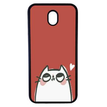کاور طرح گربه کد 7518 مناسب برای گوشی موبایل سامسونگ galaxy j3 pro