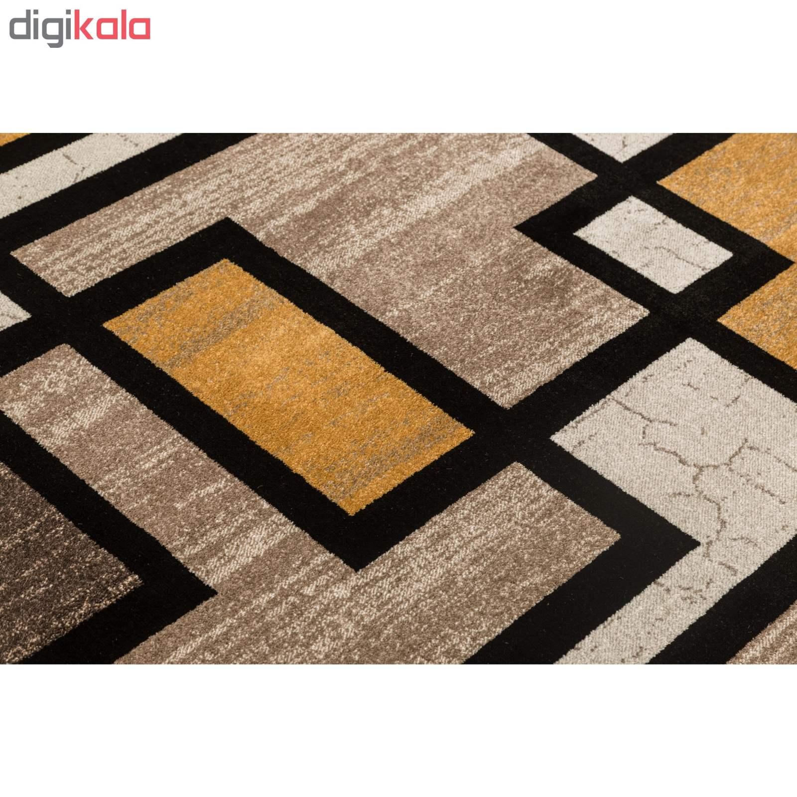 فرش ماشینی فرش ساوین طرح ۴۰۰۴ زمینه کرم main 1 2