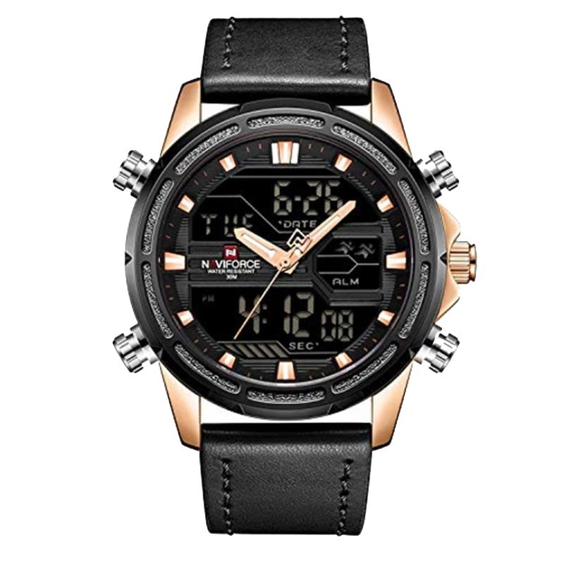 کد تخفیف                                      ساعت مچی عقربه ای مردانه نیوی فورس مدل NF9138M/MT
