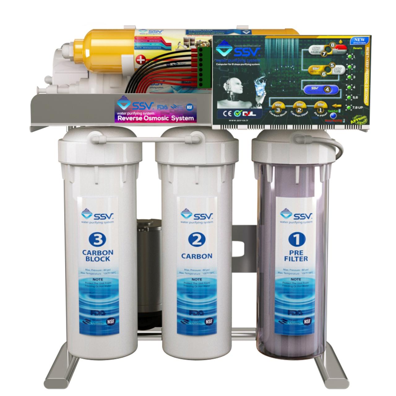 تصفیه کننده آب خانگی  اس اس وی مدل Smart UltraClear S600