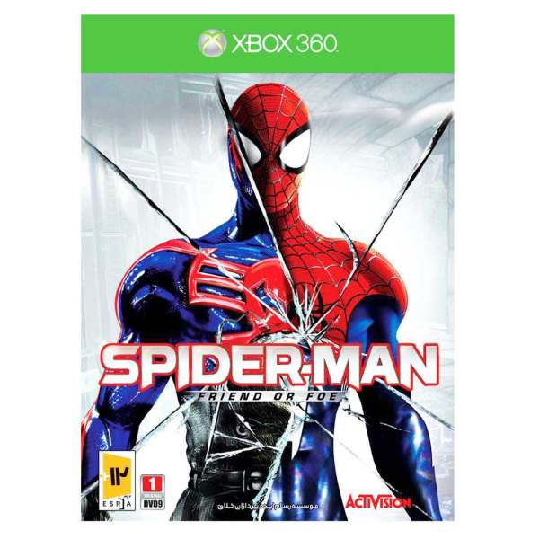 بازی Spider-Man Friend or Foe مخصوص xbox 360