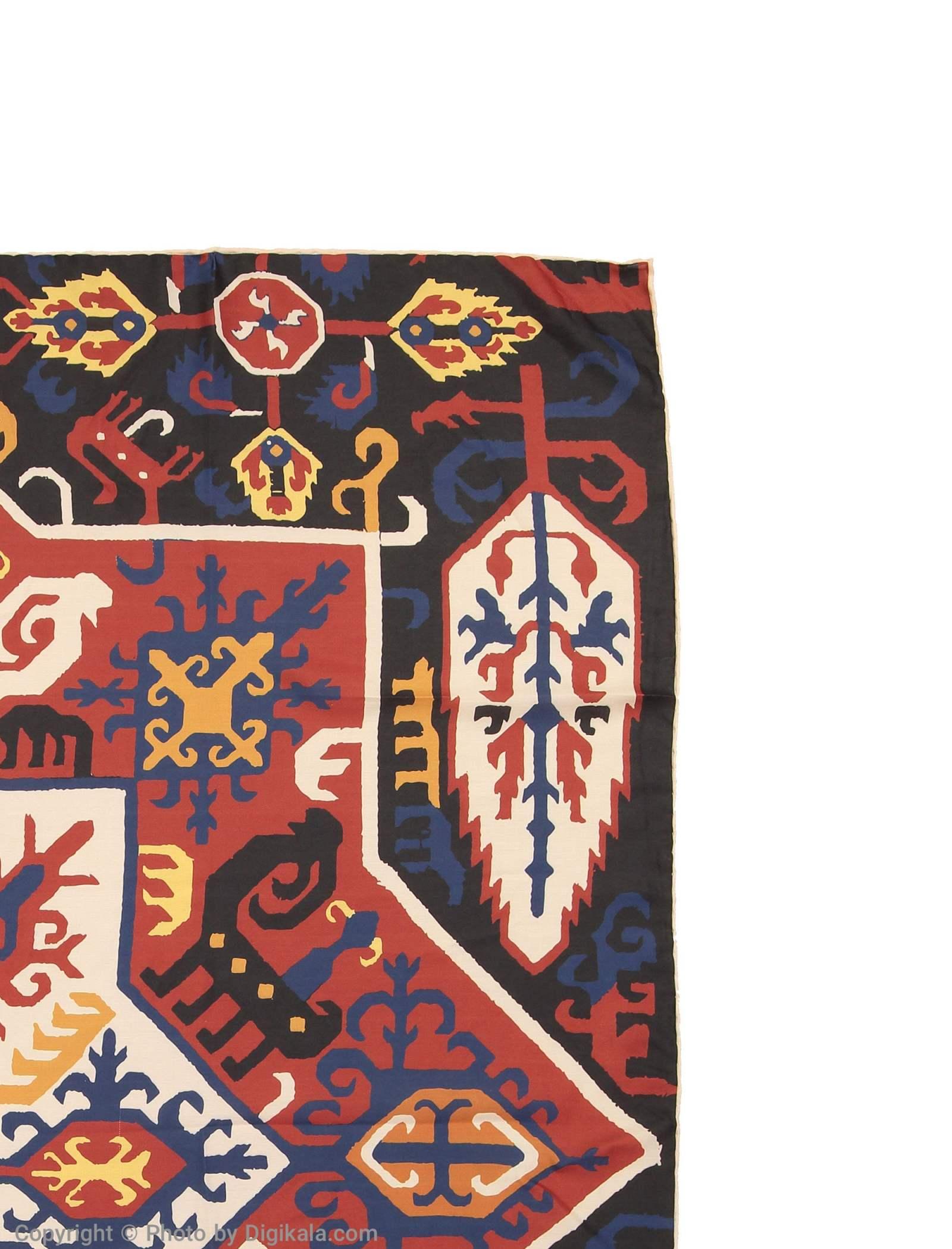 روسری طرح دار زنانه مدل قفقازی - ادور -  - 2