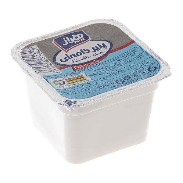 پنیر خامه ای هراز مقدار 100 گرم