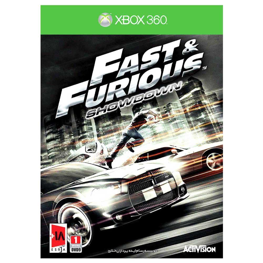 بازی Fast and Furious Showdown مخصوص xbox 360