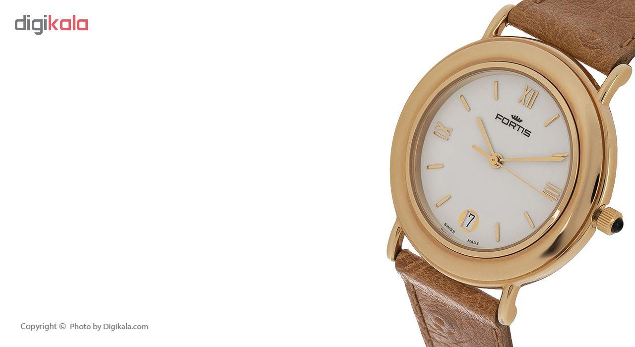 ساعت مچی عقربه ای زنانه فورتیس مدل F 562.36.23