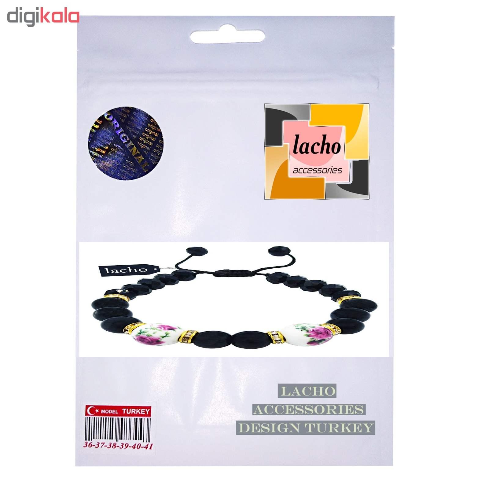 دستبند زنانه لاچو طرح رز کد 5623 main 1 2
