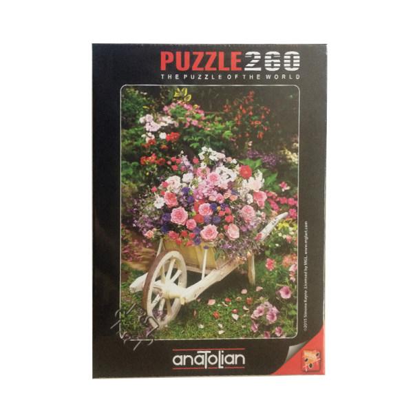 پازل 260 تکه آناتولین طرح GARDEN FLOWERS کد 3311
