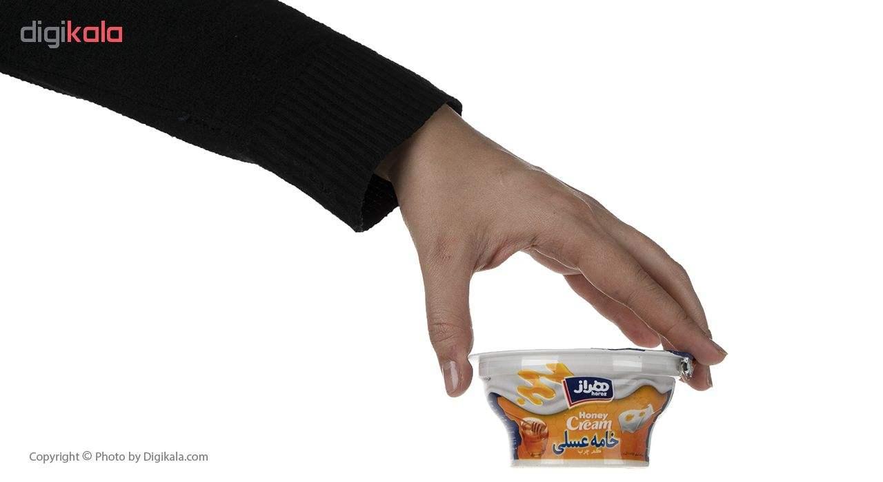 خامه عسلی هراز مقدار 100 گرم main 1 4