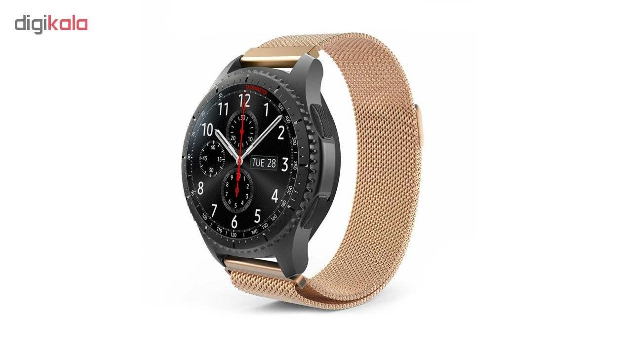 بند فلزی ساعت هوشمند مدل Magnetic-S10 مناسب برای سامسونگ Gear S3 main 1 11