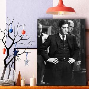 تابلو شاسی گالری استاربوی طرح آل پاچینو مدل هنرمندان و بازیگران 063