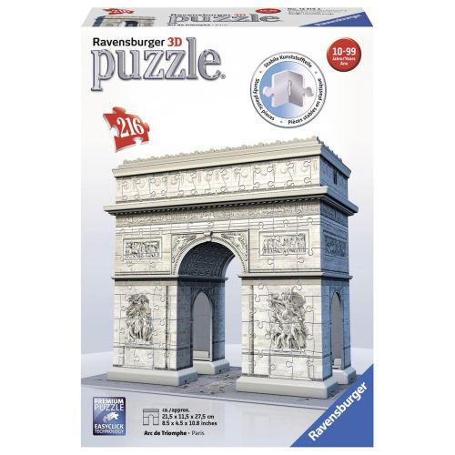 پازل سه بعدی 216 تکه راونزبرگر مدل Arc De Triomphe