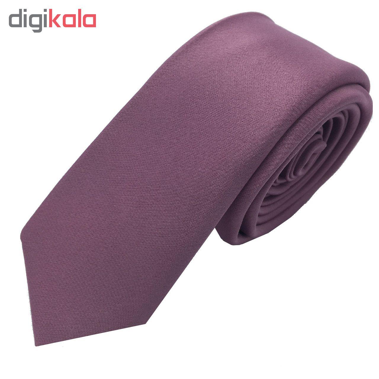 ست کراوات و دستمال جیب هکس ایران مدل SET-SM PIYAZ تک سایز