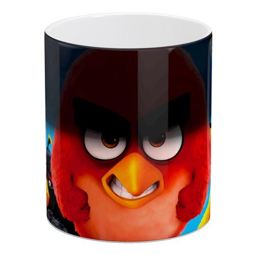 ماگ حرارتی آبنبات رنگی طرح Angry Birds کد ARM0090