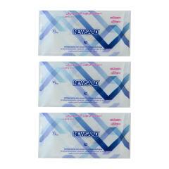 دستمال مرطوب پاک کننده آرایش نیوساد مدل  Ant 3 بسته 60 عددی