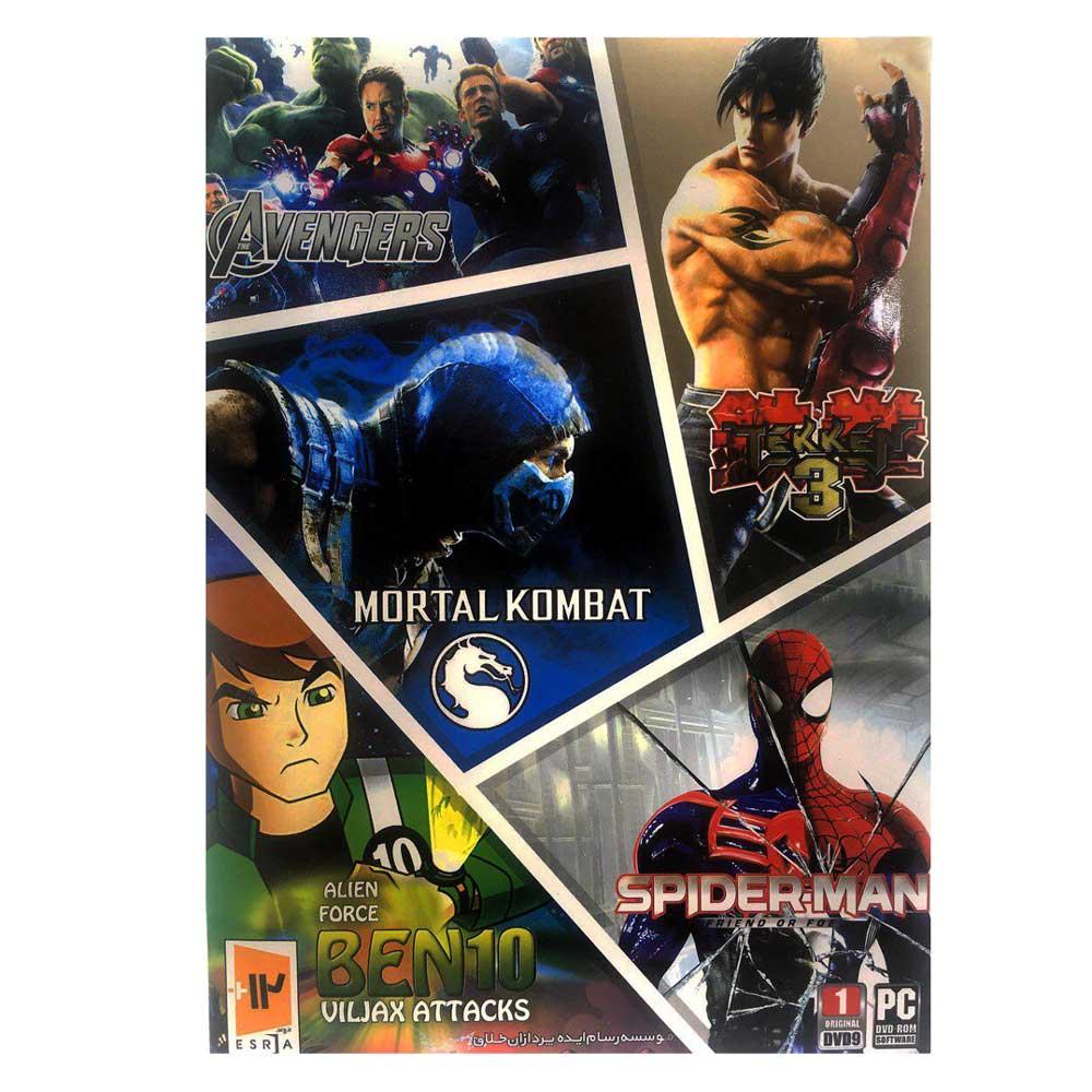 مجموعه بازی های مبارزه ای 1 مخصوص pc