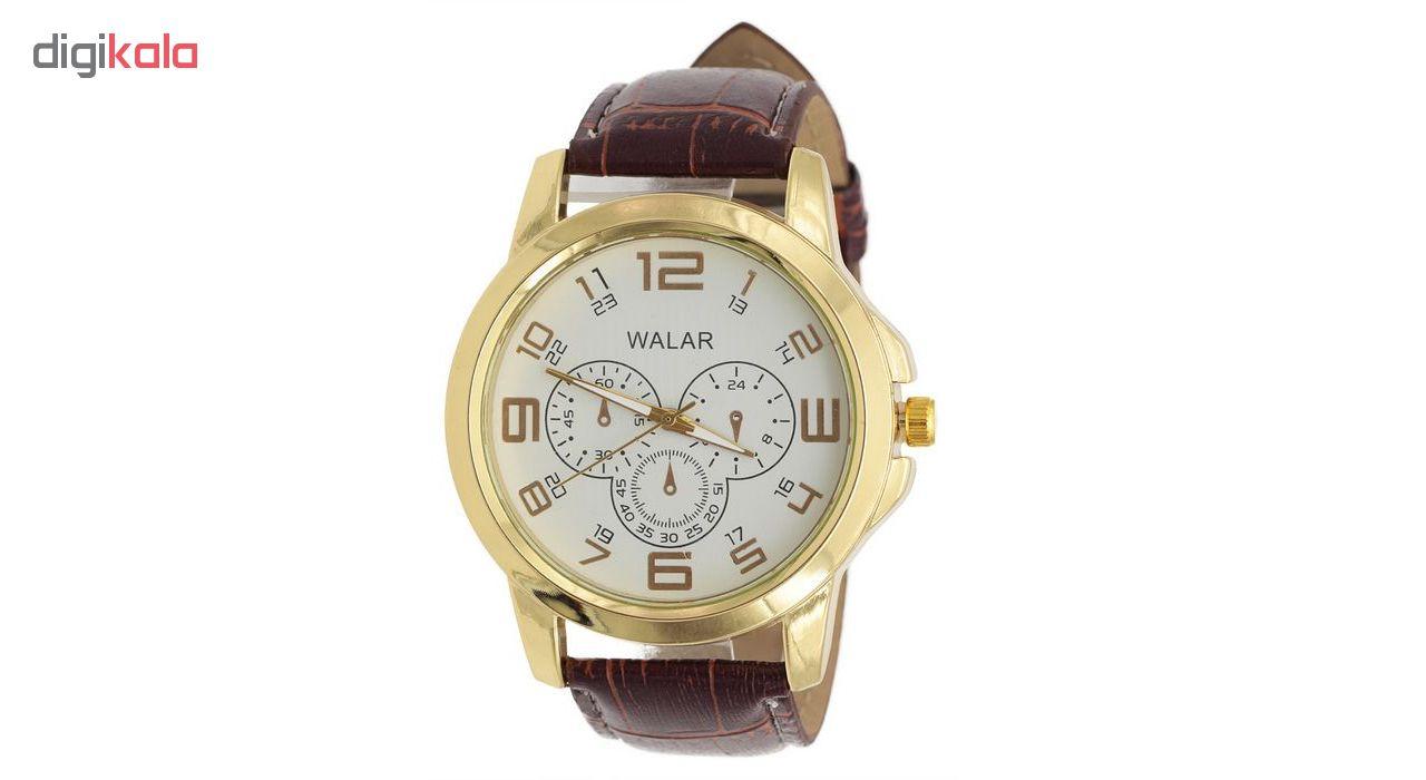 خرید ساعت مچی عقربه ای مردانه والار کد 3w-Br