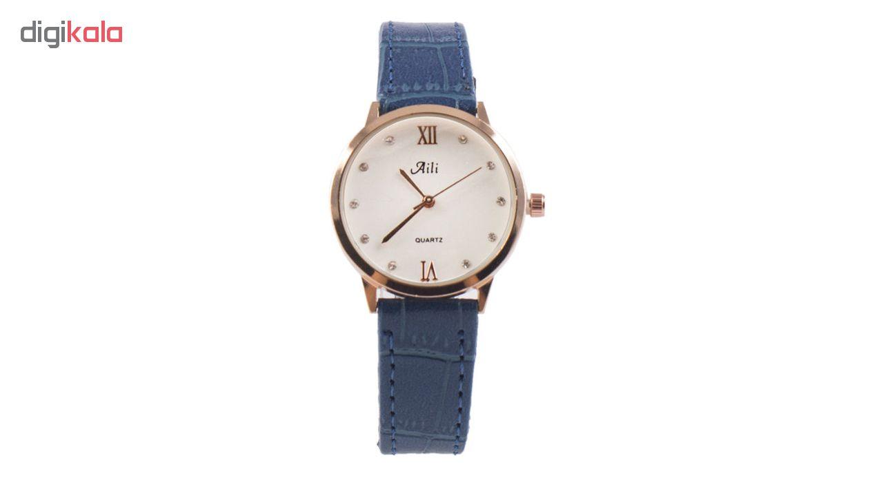 خرید ساعت مچی عقربه ای مردانه آیلی کد Ai-Bu