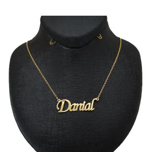 گردنبند نقره طرح دانیال